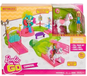 Mattel Barbie On The Go Wesołe miasteczko